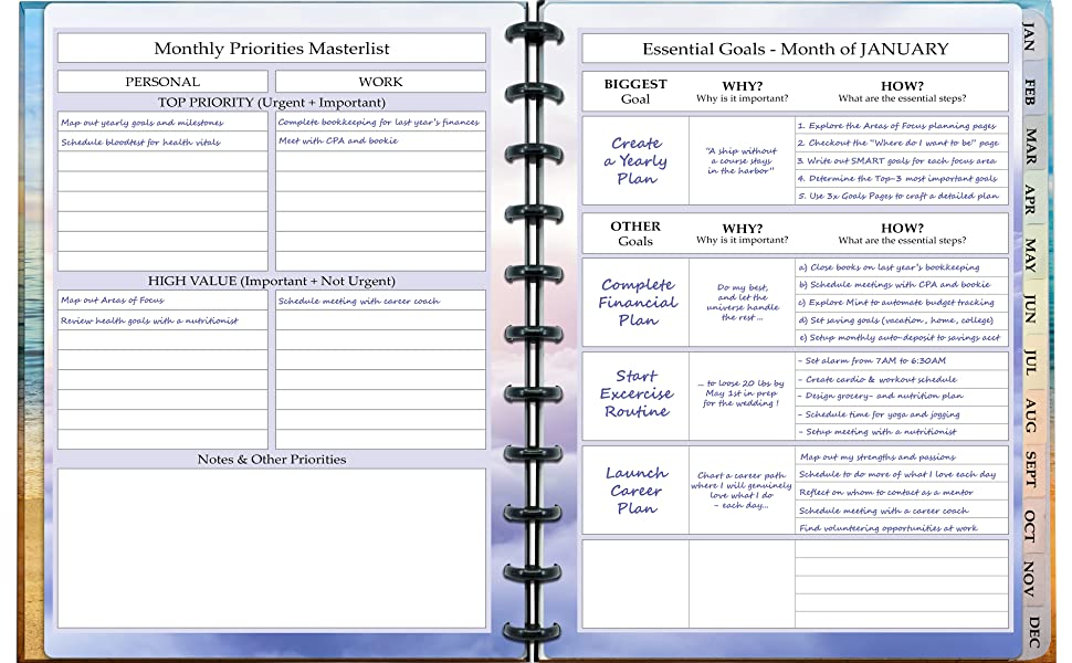 Disc Planner - Customizable Discbound Notebook - by DB Discbounds