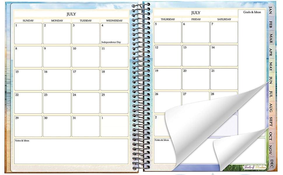 2018 2019 calendar planner 2018 2019 85 x 11 2019 day planner 2018