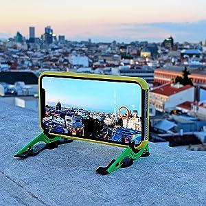 口袋三脚架可让您的手机保持稳定数小时,以创建延时视频