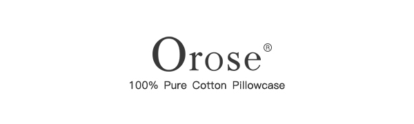Orose pillowcases   bed pillow covers