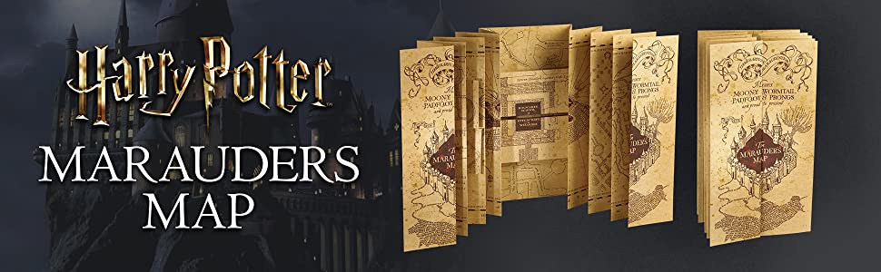 Amazon.com: Harry Potter Marauders Map: Toys & Games on