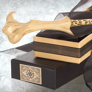 The Lord Voldemort Wand with Ollivanders Wand Box is a meticulous  recreation of the wand prop used in the Harry Potter film series 69577dc0ebaa