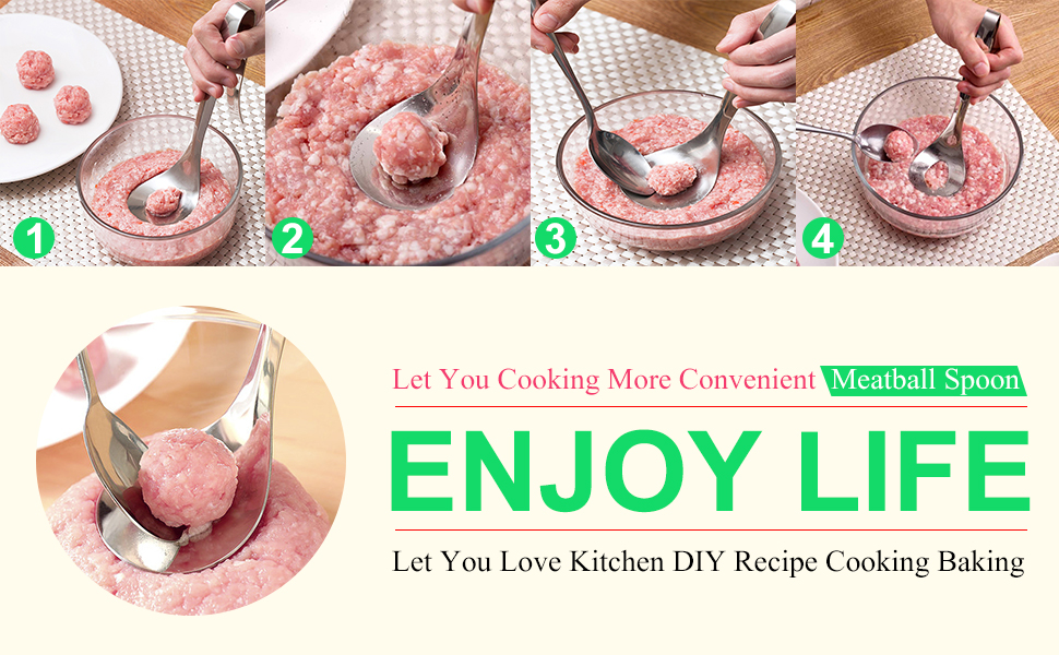Convenient Lovely Meatball Maker Essential Home Kitchen Tools Present