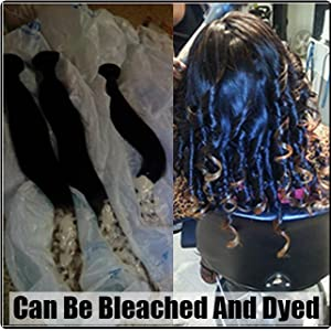 dyed and bleached