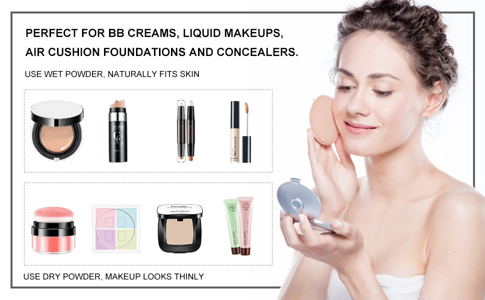 air makeup puff