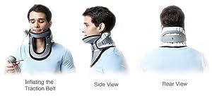 DDS MAX Cervical Traction Collar k3QTU72mRwmU