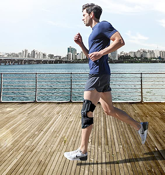 fd10762a28 The sleek and featherweight design of the DDS KneeTrac Lite, constructed of  Quick-Dry Fabric, promotes OA Knee Pain Relief and can be discreetly worn  under ...