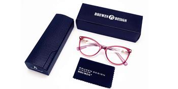 Non Prescription Glasses with case