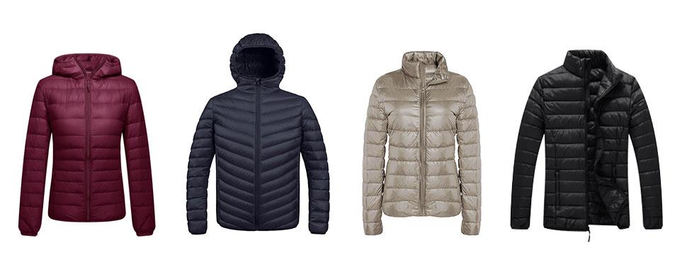 Amazon.com: ZSHOW Men's Ultra Light Packable Down Puffer Jacket ...