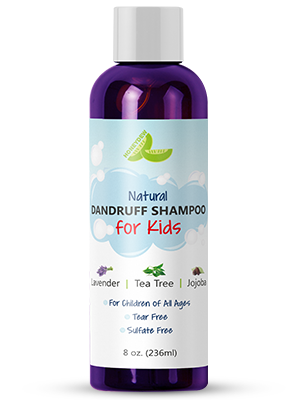 Amazon Com Anti Dandruff Shampoo For Kids Best Tear Free Natural Children S Scalp Treatment With Lavender Tea Tree Jojoba Sulfate Free For All Ages 8oz Beauty