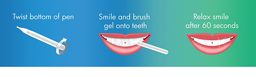 Amazon Com Auraglow Teeth Whitening Pen 35 Carbamide Peroxide 15