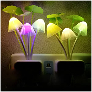 2pack night lights color changing