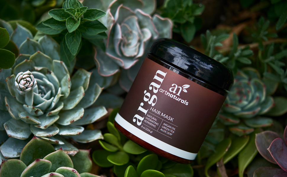 argan oil hair mask for dry and damaged hair deep conditioner