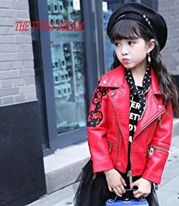 Amazon Com The Twins Dream Girls Leather Jacket Kids