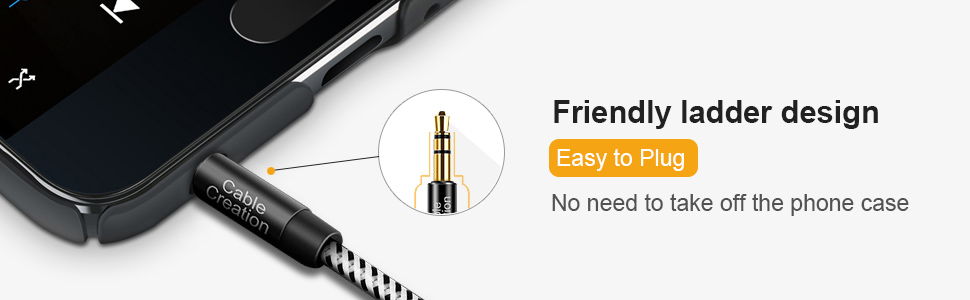 24k gold plated 3.5mm audio extension cable