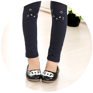 1f35034466f0a0 Run,jump,skip,and climb without ever missing a beat. IRELIA 3 Pairs Cotton  Girls leggings In Solid ...