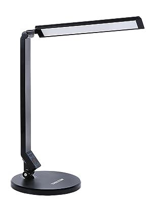 black modern desktop lighting