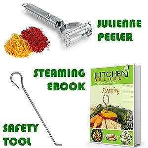 Vegetable Steamer Basket Instant Pot Pressure Cooker 3, 5, 6 Qt & 8 Quart Accessories for Instapot