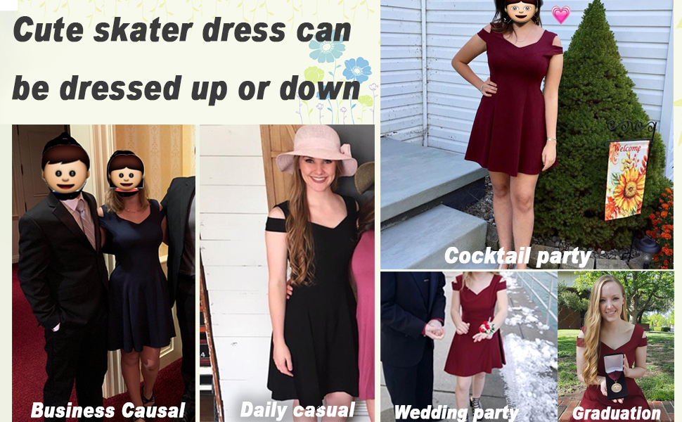 Cute Skater Dress for special occasion