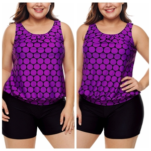 Plus Size Tankini for women