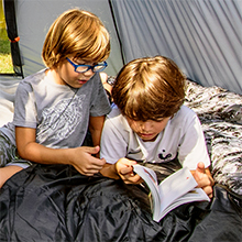 A Sleeping Solution for Everyone NTKs high-quality camp bedding has a comfortable sleep solution for every camper and outdoors enthusiast.