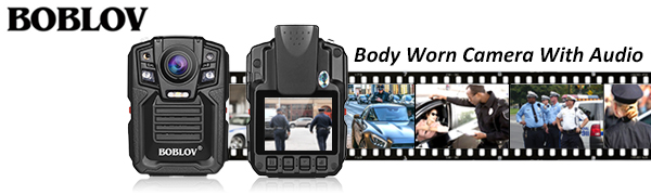 Body Worn Camera With Audio