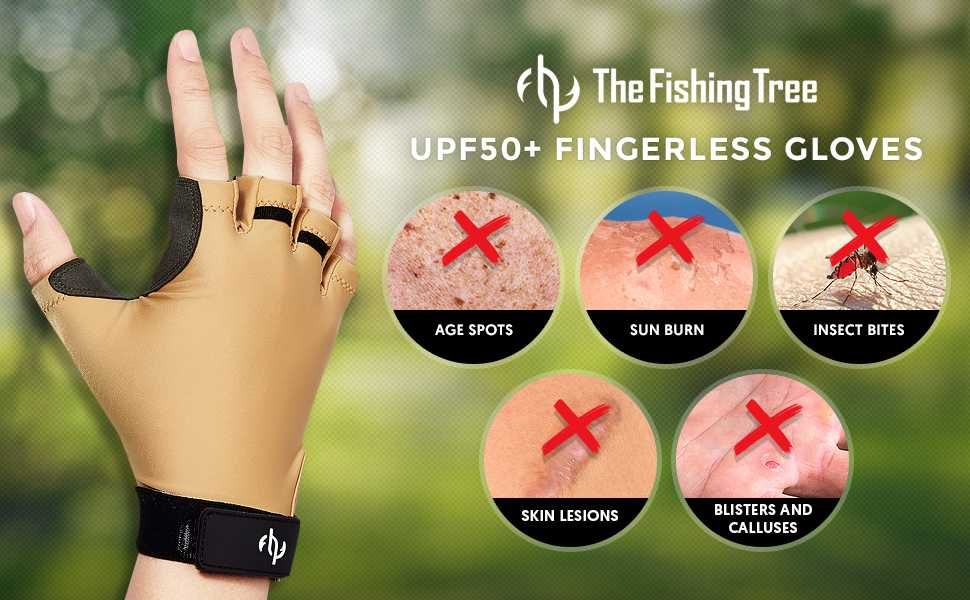 fishing gloves for sun protection help prevent sun burn, age sports, blisters and calluses