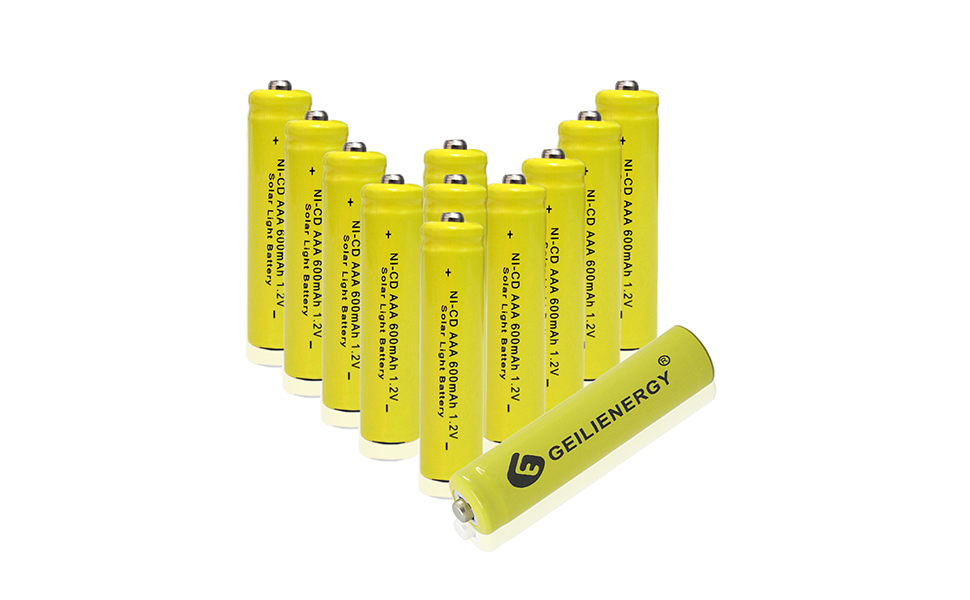 1 2-volt 600mah aaa ni-cd rechargeable batteries