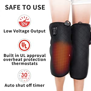 heating pad for knee