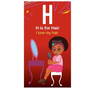 I love my hair flash cards