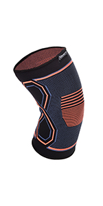 knee brace compression support sleeve for injury recovery patella surgery running weight lifting