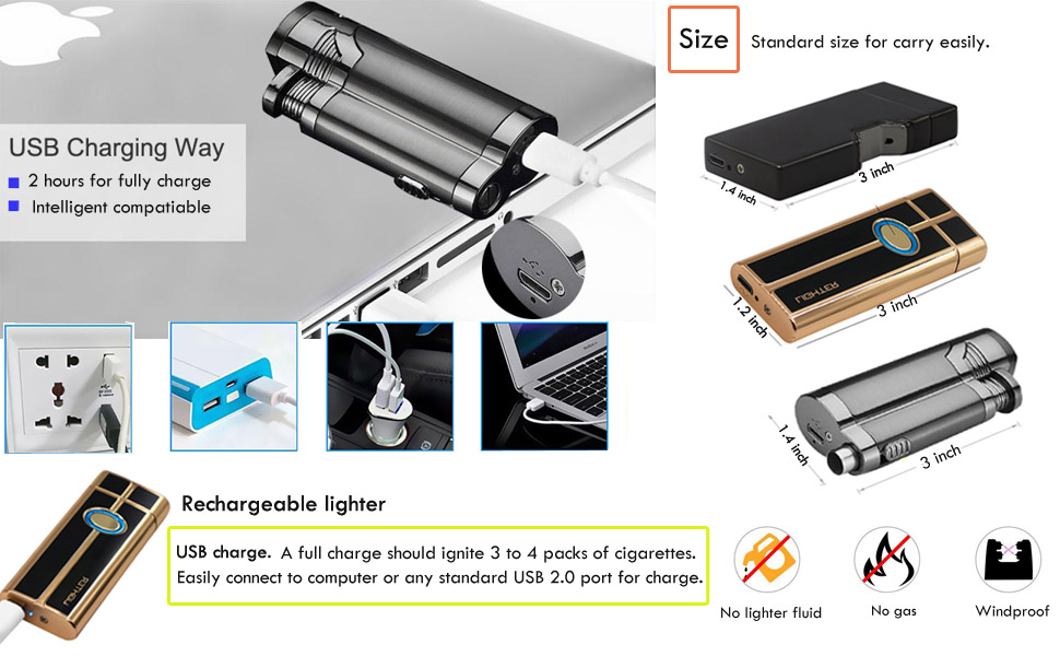 Lighters & Smoking Accessories Household Merchandises Newest 2018 Warehouse Quickly Arrive At Two Delivery Locations Free Choice Of Iron Man Design Fingerprint Touch Switch Lighter