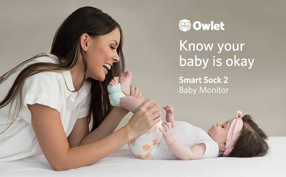 Amazon Com Owlet Smart Sock 2 Baby Monitor Track Your
