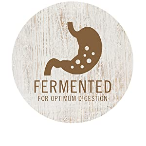 Fermented For Optimum Digestion