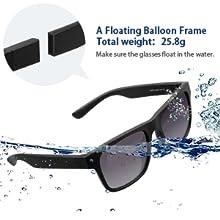 Amazon.com: avoalre Gafas de sol deportivas flotantes, 100 ...