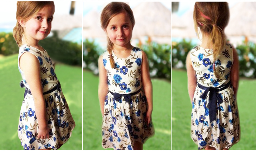 NEW Girls Toddler Childrens Kids 100/% Cotton Summer Sun Party Dress 1yrs to 7yrs
