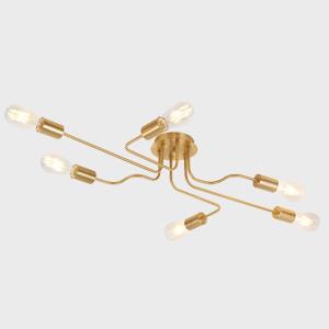 Modern Metal Art Sputnik Chandelier Lighting