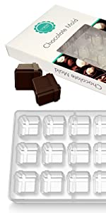 O'creme - Molde de policarbonato para chocolate