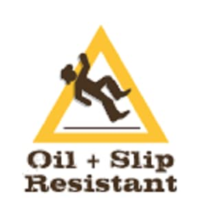 OIL AND SLIP RESISTANT