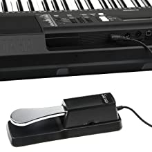 Universal sustain pedal