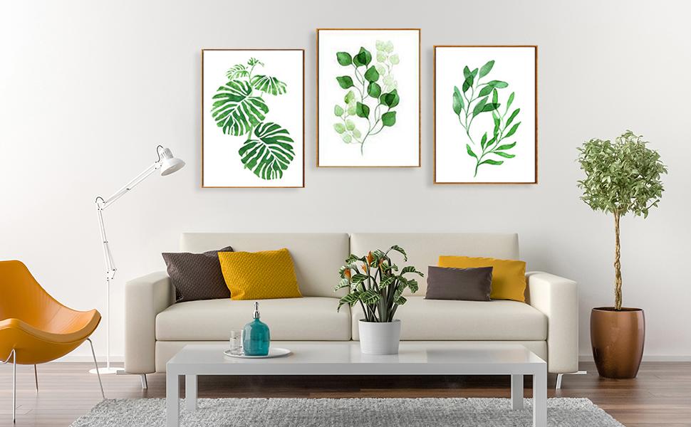 C Tree Foliage Abstract Art Print Home Decor Wall Art Poster