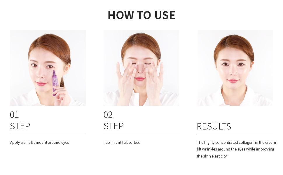 mizon, mizon collagen power firming eye cream, mizon collagen, collagen power firming eye cram tube