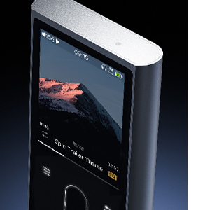 FiiO M3K Mini HiFi Metal Shell MP3 Player with Digital Voice Recorder,24 Hours Playback and Expandable Up to 512GB with Independent Lock & Volume ...