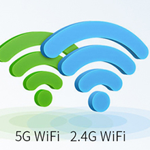 2.4/5GHz dual-band Wi-Fi