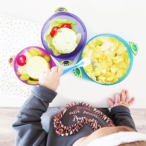 baby bowls and spoons