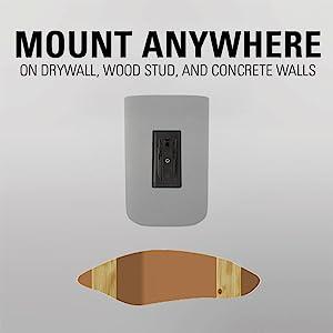 mount bracket wall monitor pa pair vizio sanus sonos for steel metal absorbing play