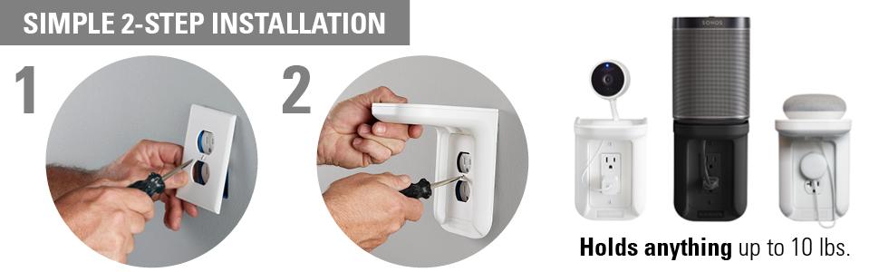 shelf charging shelf wall outlet shelf phone charging shelf drill shelf play:1 shelf play 1 shelf