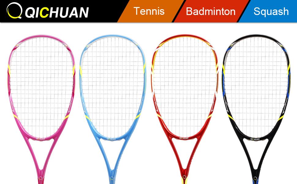 S520 Rackets · Tennis Racket · 8-Pack Racket Grips · Sports Racket Bag