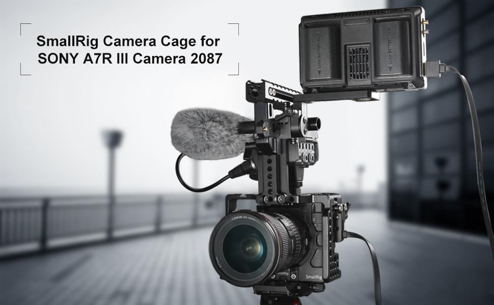 Amazon com : SMALLRIG A7RIII / A7III Camera Cage for Sony
