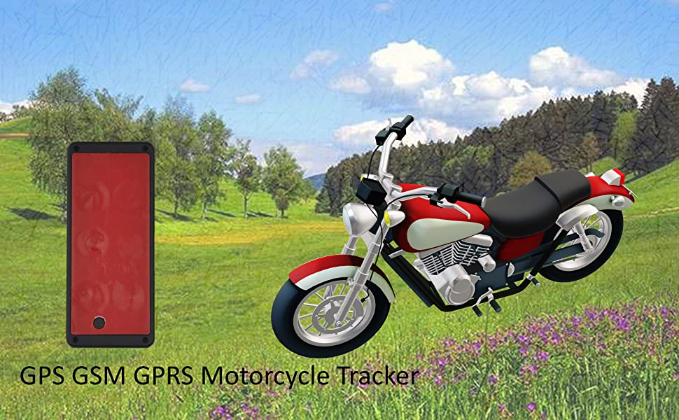Magnetic GPS GSM GPRS Motorcycle Tracker Real-time Locator
